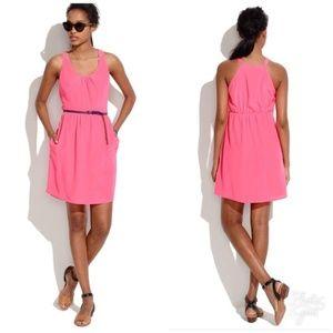 Silk Island NEON FLAMINGO Dress